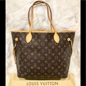 Authentic Louis Vuitton Neverfull MM Tote #2.1P